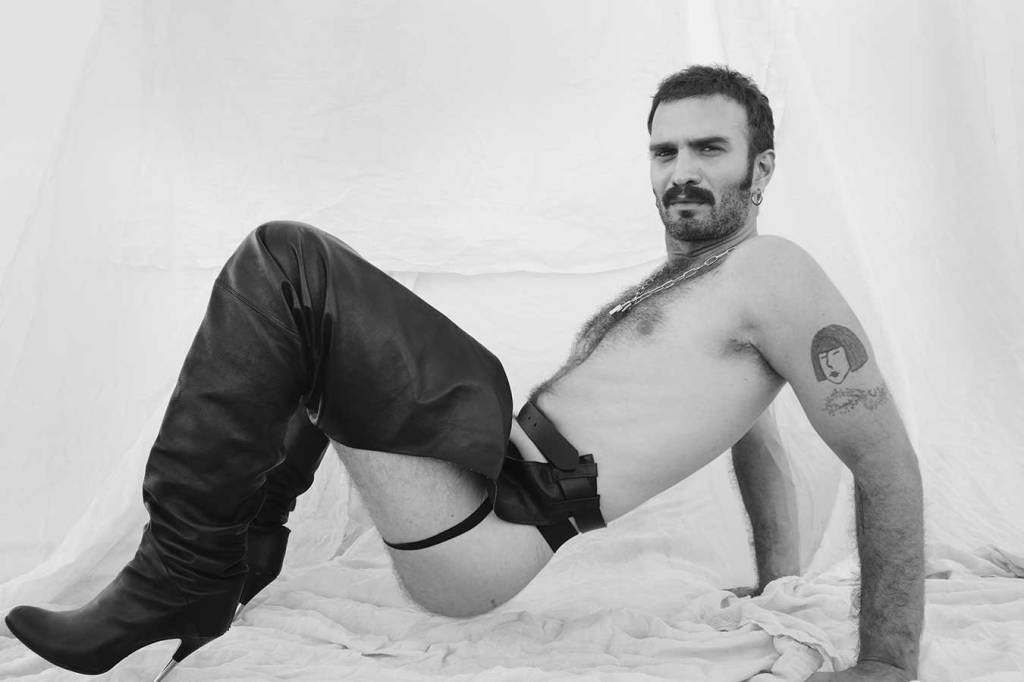 black and white photography, 35mm photogrpahy, george kanis, dreck magazine, greek photographer, gay photographer, queer artist, lgbt artist, gay fetish, fetish art, tattooed body, leather fetish