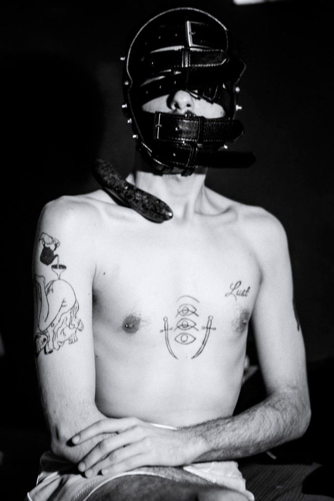 black and white photography, 35mm photogrpahy, george kanis, dreck magazine, greek photographer, gay photographer, queer artist, lgbt artist, gay fetish, fetish art, tattooed body,
