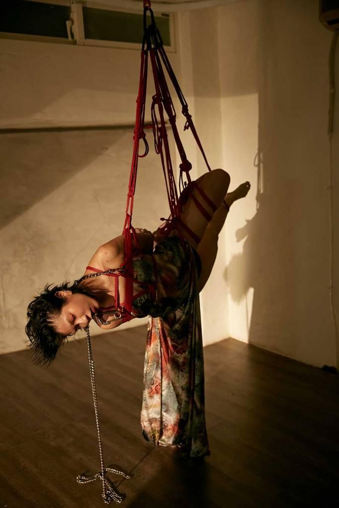 jenn lee, shibari ties, shibari knots, shibari design, fashion designer, taiwan designer